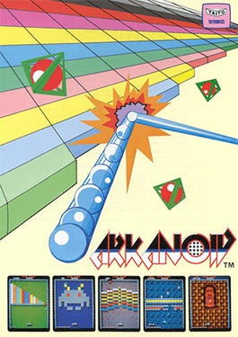 Commodore 64 Arkanoid online playable game