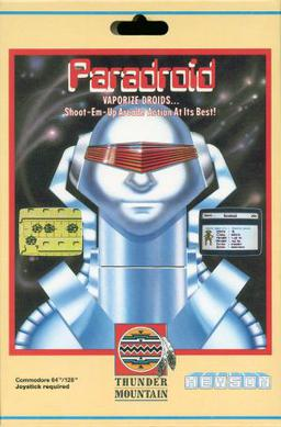 Commodore 64 Paradroid online playable game