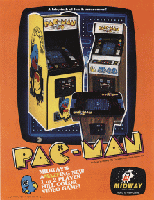 Online DOS game Pac-Man