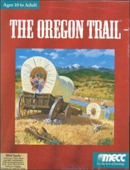The Oregon Trail online playable DOS game