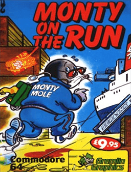Monty on the Run online playable C64 game