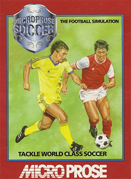 Microprose Soccer online playable C64 game