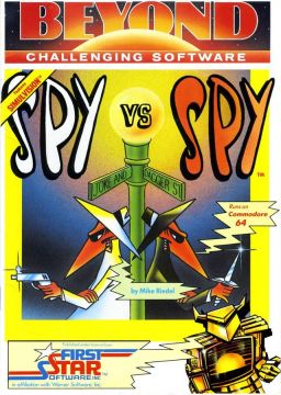 Spy vs Spy online playable C64 game