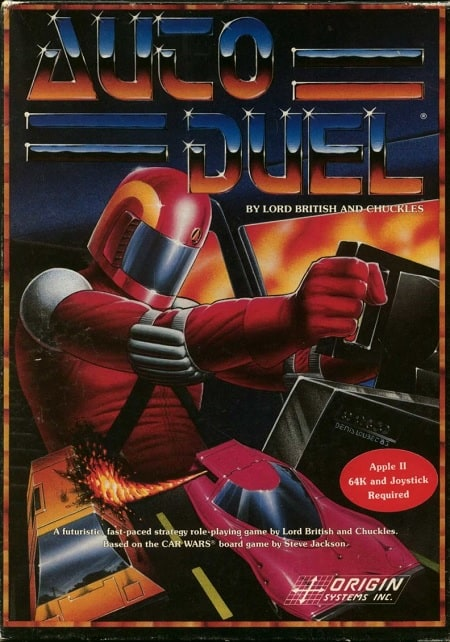 Auto Duel MS-DOS game